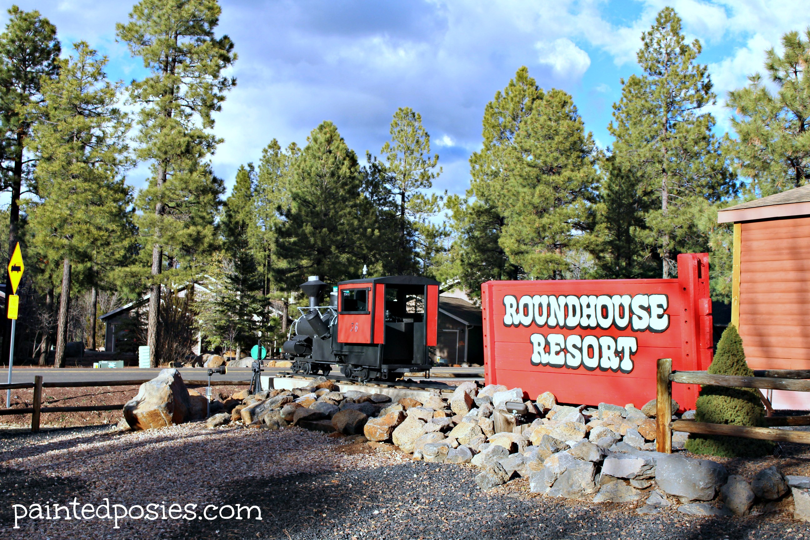 Roundhouse Resort Entrance