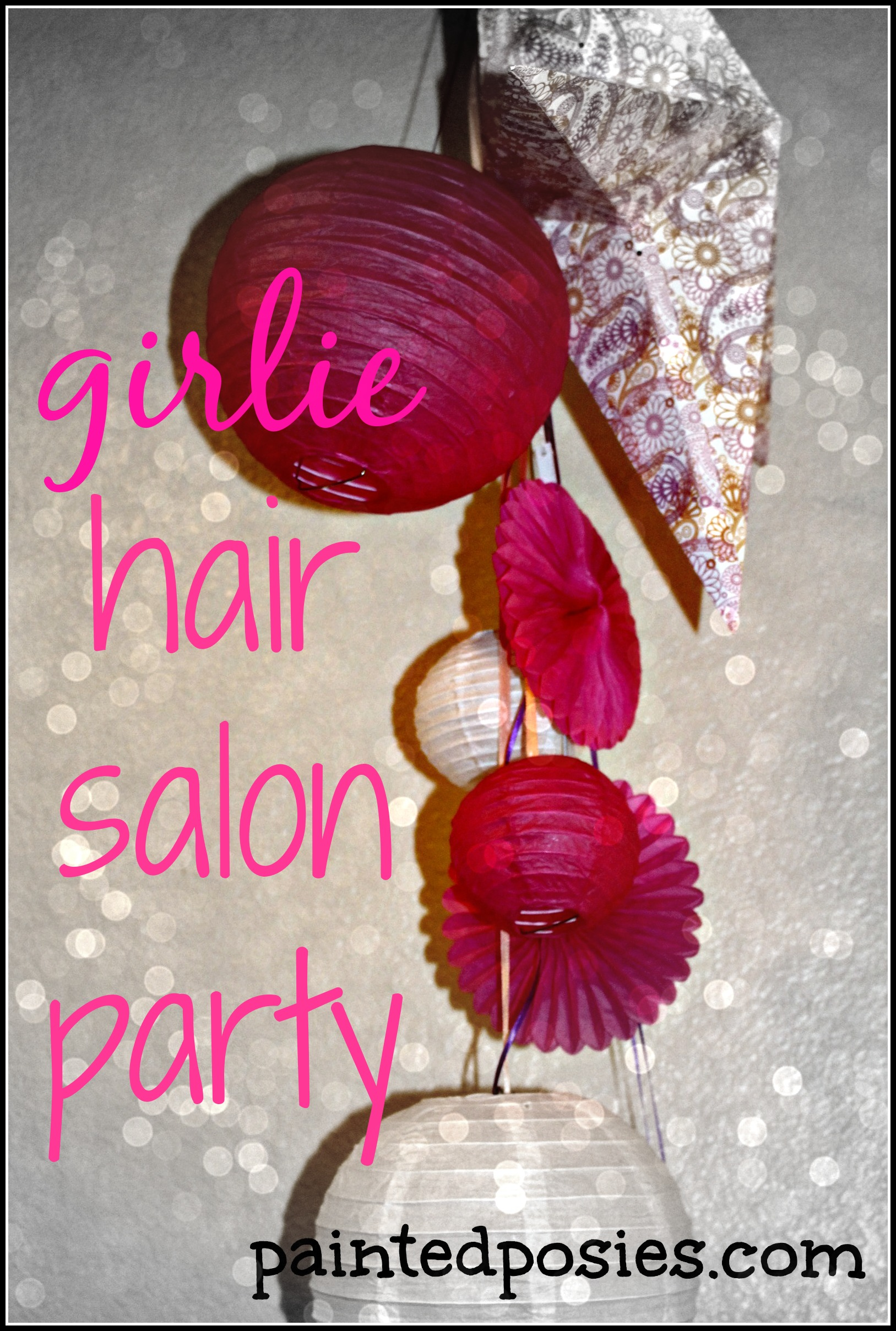 Girlie Hair Salon Party