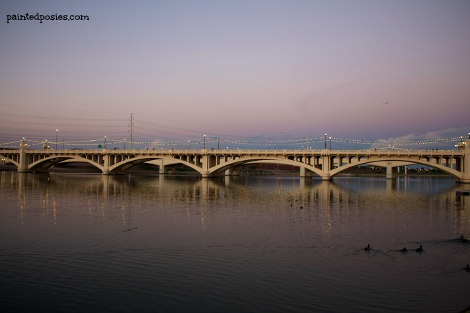 Tempe Town Lake Bridge October 2014