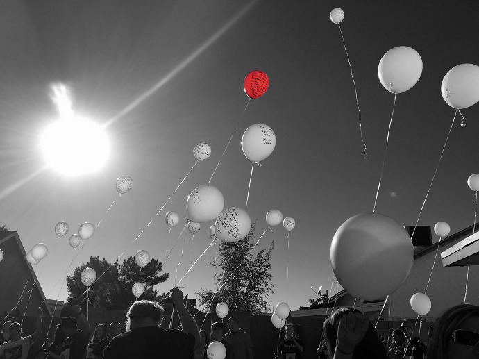 Celebration of Life Balloon Release