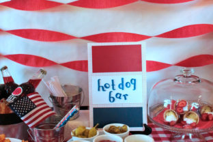 4th of July Party Ideas paintedposies.com