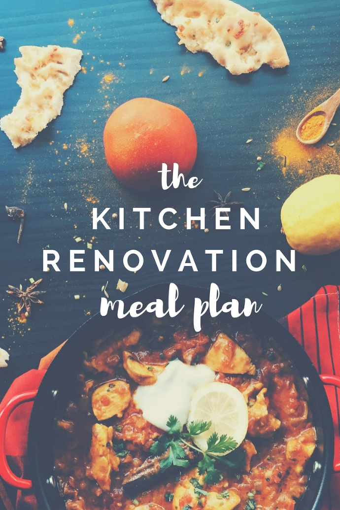 the kitchen renovation meal plan paintedposies.com