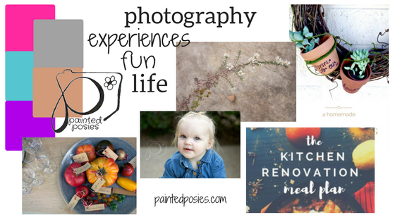 Painted Posies Blog Mood Board #bloggingyourway #inspireme paintedposies.com