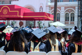 A USC Graduation May 2017 paintedposies.com