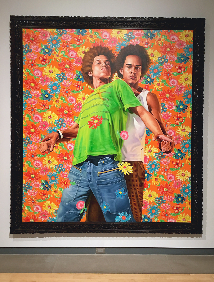Kahinde Wiley A Visit To The Phoenix Art Museum